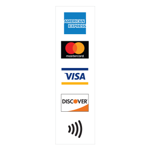 image regarding We Accept Credit Card Signs Printable named American Express® Signage The vast majority Purchase Kind